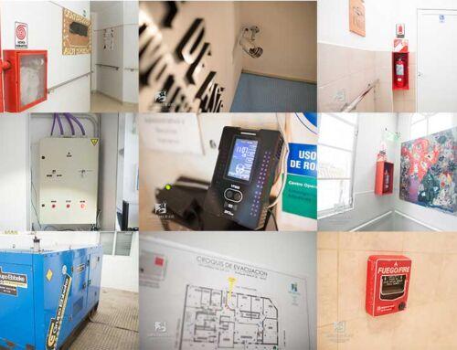 Seguridad en nuestras instalaciones